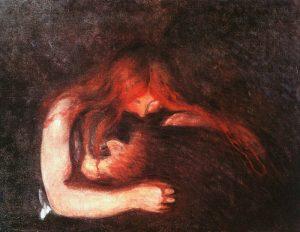Edvard Munch's 'Vampire'