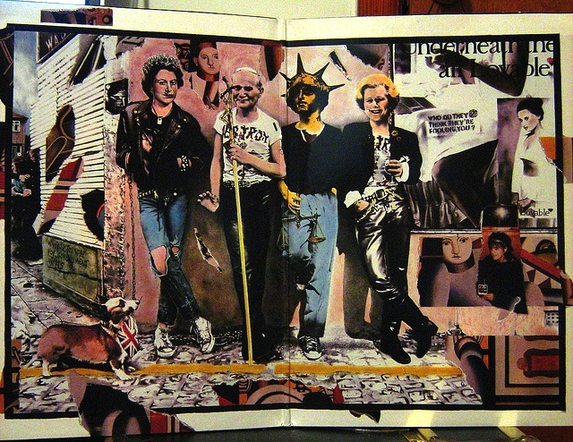 Crass interior sleeve. Best Before 1984 (Crass Records, 1986)