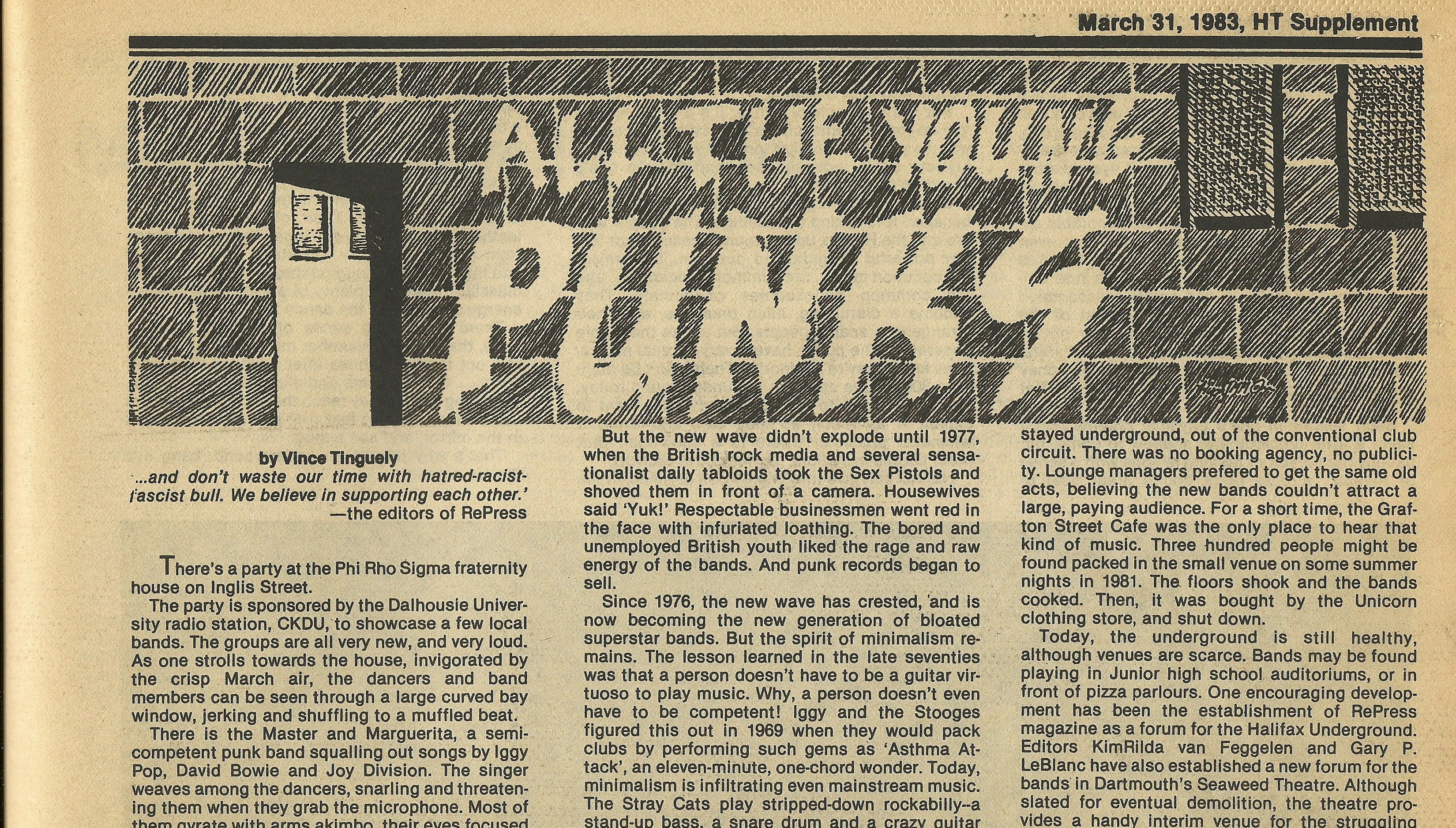 All The Young Punks Illimitable Reality Wreck