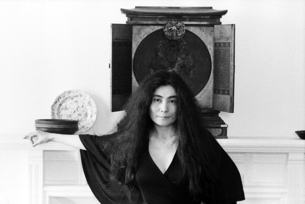 Yoko Ono At The Dakota